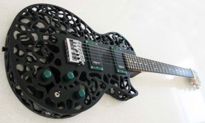 ODD's Atom 3D printed guitar