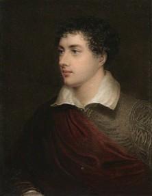 NPG D9055; George Gordon Byron, 6th Baron Byron by Henry Meyer, after  James Holmes