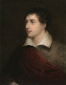 NPG D9055; George Gordon Byron, 6th Baron Byron by Henry Meyer, after  James Holmes