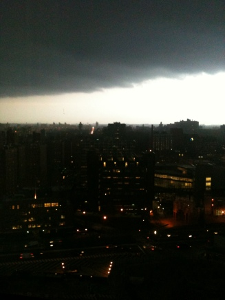 Storm over Brooklyn
