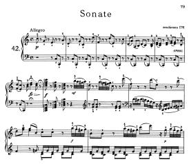 Haydn Sonata in C
