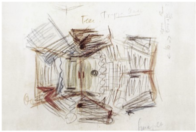Sketch for the Philharmonie