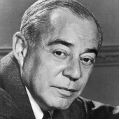 Richard Rodgers (1902-1979) Broadway composer of great musicals such as Carousel and Oklahoma.