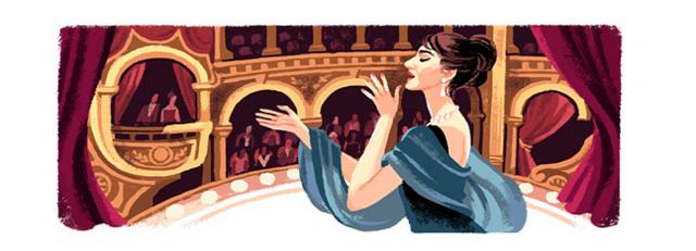 Callas Google Doodle