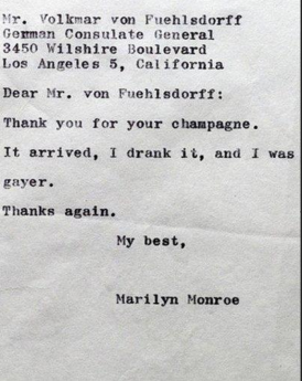 Monroe Letter