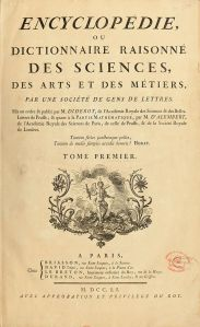 Diderot's Encyclopedia: The MOOC of its day?