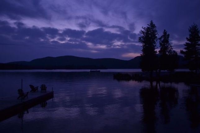 Blue Mountain Lake, Labor Day weekend 2014.