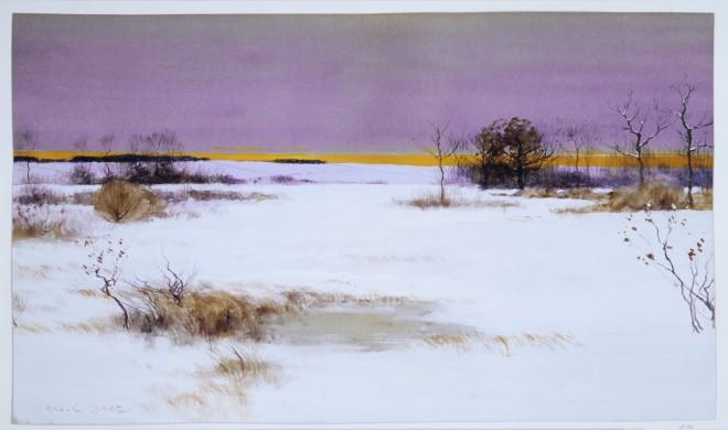 Snow Scene, Bruce Crane