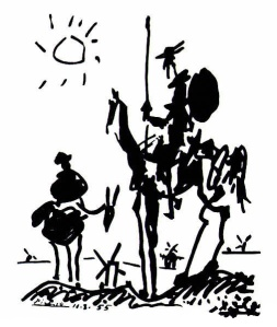 """Donquixote"". Licensed under Fair use via Wikipedia - http://en.wikipedia.org/wiki/File:Donquixote.JPG#mediaviewer/File:Donquixote.JPG"