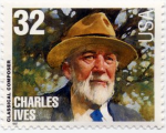 Charles Ives Stamp