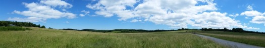 The vast expanse of WordPress.com blogs. (Well, actually it's Big Meadows at Shenandoah National Park, but they're both big!).