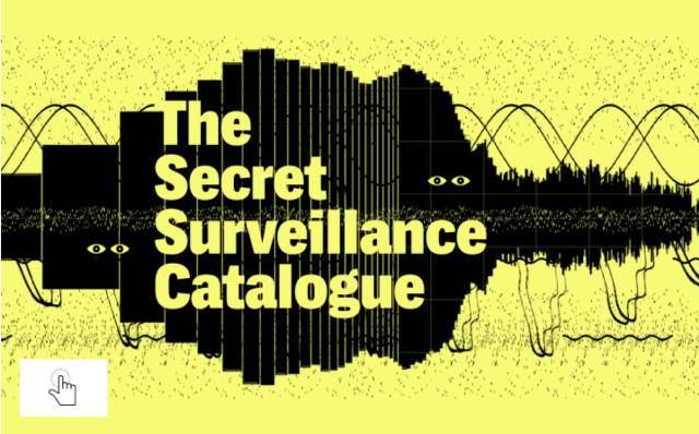 The Secret Surveillance Catalogue