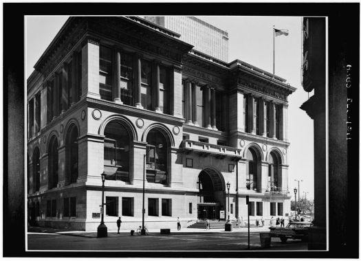 The first library I remember going to, The Chicago Public Library (now a historical society) On Michigan Avenue.